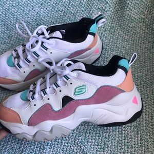 Skechers Shoes - Colorful bulky sneakers